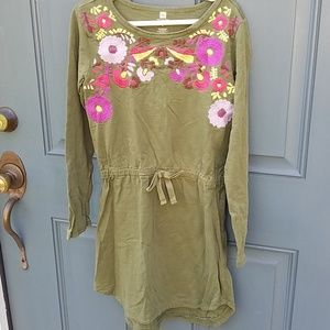Tea Collection Embroidered Dress
